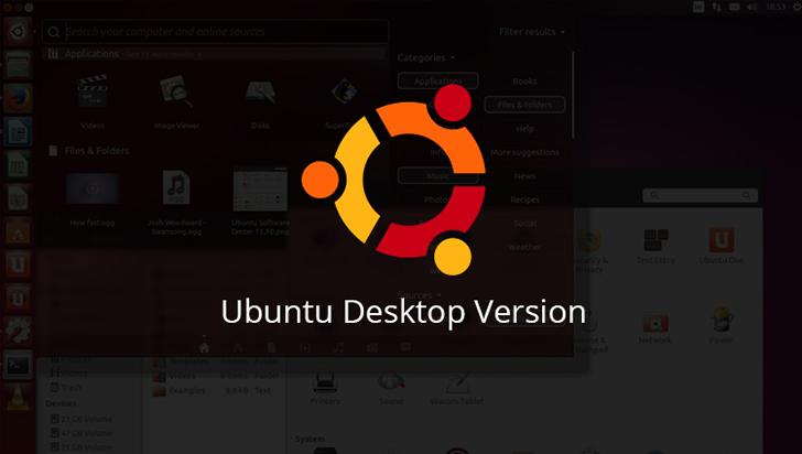 Ubuntu Desktop Version